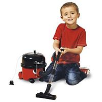 Little Henry Vaccum Cleaner photo with boy